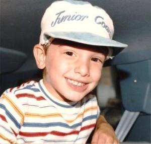 Bobby when he was a little boy